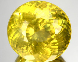 14.13 Cts Natural Apatite Canary Yellow Brilliant Round mix Brazil