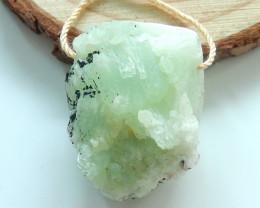 Raw fluorite pendant,green crystal gemstone pendant,healing stone pendant ,