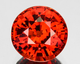 ~BRILLIANT~ 2.07 Cts Natural Mandarin Orange Spessartite Garnet Round Namib