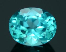 Rare 2.62 ct Neon Blue Color Apatite SKU.3