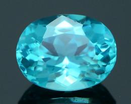 Rare 1.91 ct Neon Blue Color Apatite SKU.3