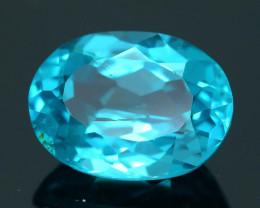 Rare 2.31 ct Neon Blue Color Apatite SKU.3