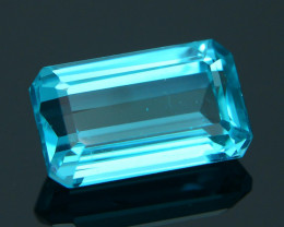 Rare 1.92 ct Neon Blue Color Apatite SKU.3