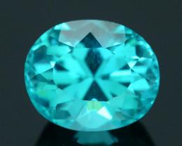 Rare 2.42 ct Neon Blue Color Apatite SKU.3