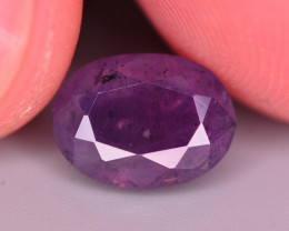 Amazing Color 3.95 Ct Natural Corundum Sapphire From Kashmir. RA