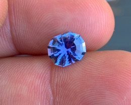 2.02 cts AAAA Tanzanite - Precision Cut by Me - World Class Stone