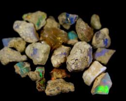 100.5Cts Ethiopian Welo Rough Opal Parcel Lot