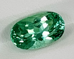 3.95Crt Green Spodumene Best Grade Gemstones JI12