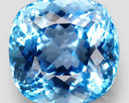 18.64  ct Natural Swiss Blue Topaz – IGE Certificate