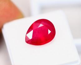9.61ct Ruby Composite Pear Cut Lot GW3273