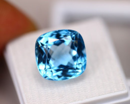 17.77ct Swiss Blue Topaz Cushion Cut Lot GW3279