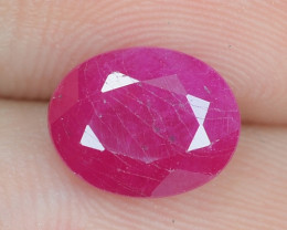 2.98 Cts Amazing Rare Natural Pinkish Red Ruby Loose Gemstone