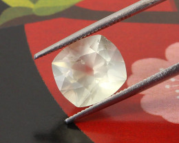 3.60ct White Orthoclase Cushion Cut
