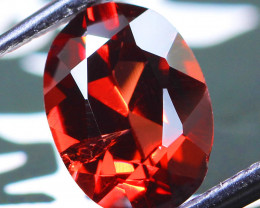 1.86ct Almandine Garnet Oval Cut from Madagascar - NR Auctions