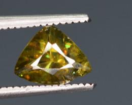 0.80 Carats Top Fire  Natural Sphene Gemstones