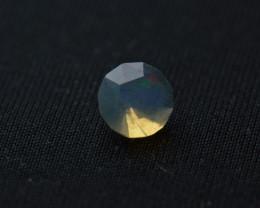 Faceted modified brilliant cut Ethiopal Opal 5.6mm x 3.6 mm