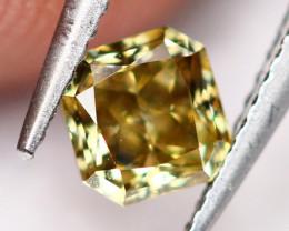 0.27Ct Untreated VS Fancy Sunny Color Diamond E0501