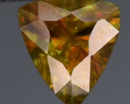 0.85 Carats Top Fire  Natural Sphene Gemstones