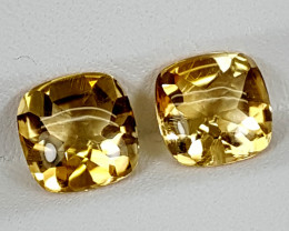 4.10Crt Madeira Citrine Best Grade Gemstones JI13