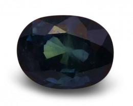 1.26 ct Oval  Blue Sapphire