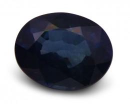 1.60 ct Oval  Blue Sapphire
