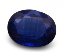 0.92 ct Oval  Blue Sapphire-$1 No Reserve Auction