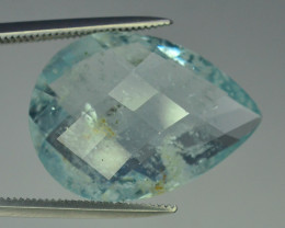 10.95 ct Natural Untreated Aquamarine