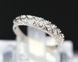 Diamond Ring 18Kt Gold F/VS Natural Diamond Ring D01