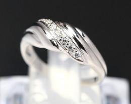 Diamond Ring 18Kt Gold F/VS Natural Diamond Ring D03
