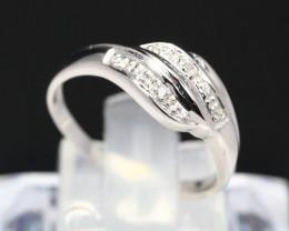 Diamond Ring 18Kt Gold F/VS Natural Diamond Ring D08