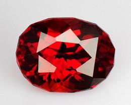 1.37 Ct Spessartite Garnet Pure Red Gem Quality Gemstone SG 51