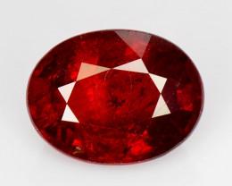 2.54 Ct Spessartite Garnet Pure Red Gem Quality Gemstone SG 54