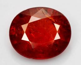 1.46 Ct Spessartite Garnet Pure Red Gem Quality Gemstone SG 55