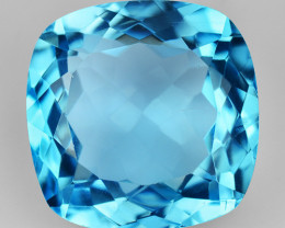 14.17 Ct Topaz Top Cutting Top Luster Gemstone. TP 28