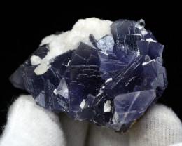 389 Cts Beautiful Purple Fluorite Specimen From Pakistan