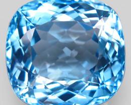 41 .66 ct. 100% Natural Top Sky Blue Topaz Brazil