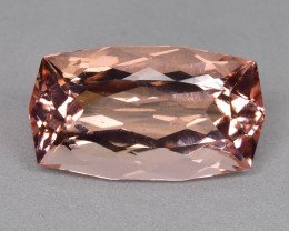 11.30 Cts Beautiful Attractive Cushion Shape Natural Morganite Brazil