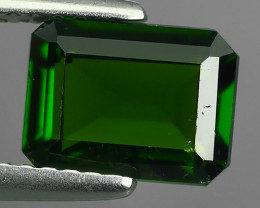 1.57 CTS NATURAL ULTRA RARE CHROME GREEN DIOPSIDE RUSSIA