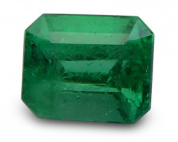 0.75 ct Emerald Cut Colombian Emerald