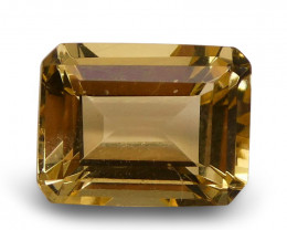 1.70 ct Emerald Cut  Heliodor/Yellow Beryl - $15 No Reserve Auction