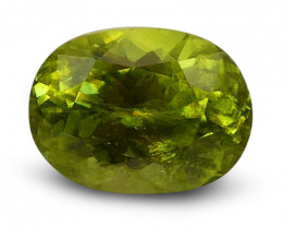1.79 ct Oval  Sphene (Titanite) - $1 NR Auction