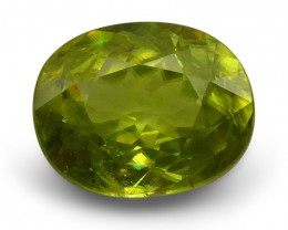 2.11 ct Oval  Sphene (Titanite)-$1 No Reserve Auction