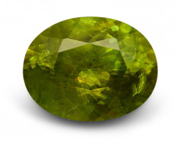3.25 ct Oval  Sphene (Titanite)