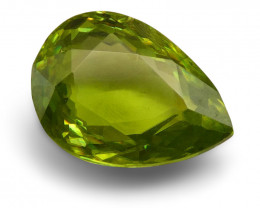 1.42 ct Pear  Sphene (Titanite) - $1 No Reserve Auction
