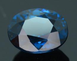AAA Grade 1.37 ct Cobalt Tanzanian Blue Spinel SKU.6