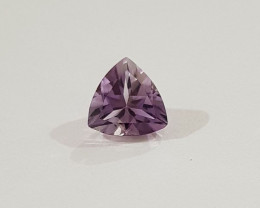 Amethyst trillion 7mm 1.5 carat fine cutting #G0066