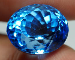 9.25 CRT LOVELY SWISS BLUE TOPAZ VERY CLEAR-