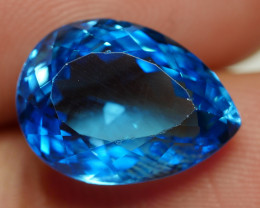 7.75 CRT LOVELY SWISS BLUE TOPAZ VERY CLEAR-