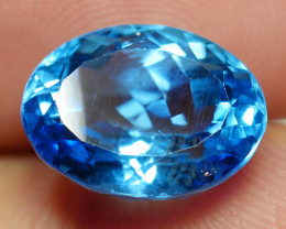 6.70 CRT LOVELY SWISS BLUE TOPAZ VERY CLEAR-