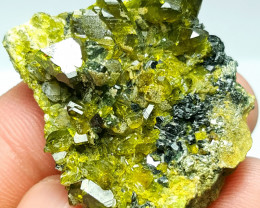 Damage free Epidote combine with Diopside 109Cts - Afghanistan